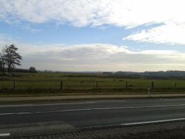 the open field and an airstrip from the airport by StarGateFanFre