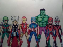 The Avengers by KingCozy7