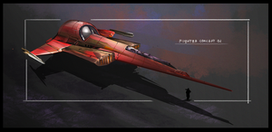 Fighter concept by Mr-me-Alexey