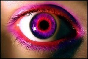 pink and purple eye by qwerty5678