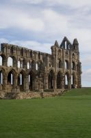 Whitby Abbey II by Sassy-Stock