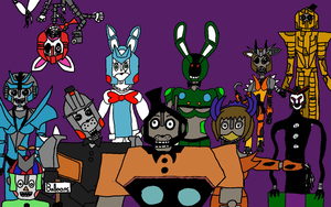 Five Nights at Transformers Galaxy 2! by MrENygma100