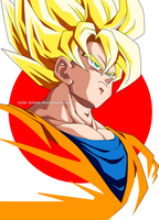 Goku ssj1 by Ezio-anime