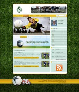 Soccer Template by palneera