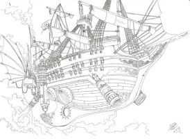 Pirate Ship by Fgore