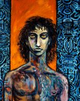 Letheo in Human Form by CliveBarker