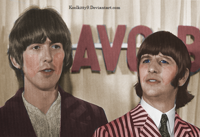 George and Ringo 1966 by koolkitty9