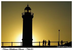Kiama Lighthouse Sunset by Nate80