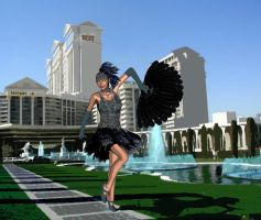 Vegas never stops partying by Luddox