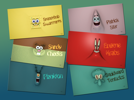 Spongebob Wallpaper Collection by TheBigDaveC