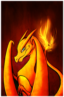 RQ - Charizard Fire by twinchesterz