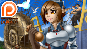 Patreon! Elf Fighter 3 Teaser by RoninDude