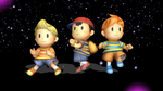 MMD Claus, Lucas, Ness, Ninten DL by ValaPocho