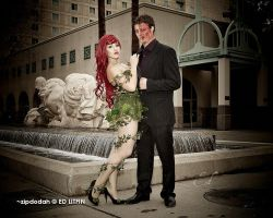 Poison Ivy + Two Face [125] Sacanime W-2013 by zipdodah