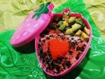 Strawberry Bento by Demi-Plum