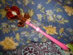 Sailor Moon Proplica: Spiral Heart Moon Rod 2 by VenusCollectionNook