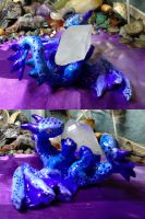 Upside Down Gemstone Dragon by SonsationalCreations