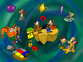Let's Play Crash Bash! by wecato