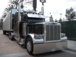 Black Peterbilt 397X with Trailer by rlkitterman