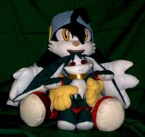 Kos and V2 Klonoa plush by YutakaYumi