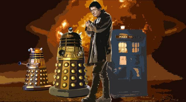 Time War Poster by Faderunner