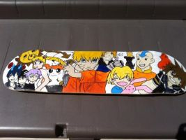 Skateboard Completed by accioglee