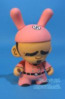 PINK ADOLF munny Custom 2 by ibentmywookiee