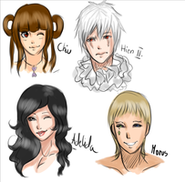 Xaon- more characters by LotteQ