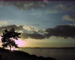 Another Sunset at Port Gardner by aRetrodude