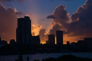 Downtown Miami by lnweiss72
