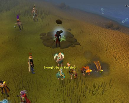 Runescape - Everybody do the flop by Gread96