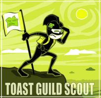 MIGHTY TOAST GUILD scout by angry-green-toast
