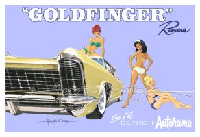 Goldfinger by AtomicKirby