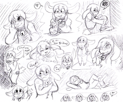 Doodlepage Commission: saobunneh by two-cue