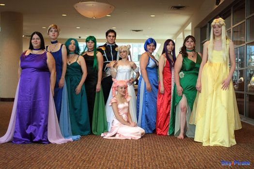FULL CAST OF PRINCESSES!! by SinnocentCosplay