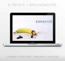 Bananacide wallpaper by marius-s