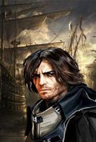 corvo attano from dishonored game by maxdesolate
