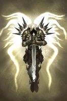 Tyrael, Archangel of Justice. by ShidiwenBrown
