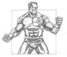 COLOSSUS PENCILS by sketchpimp