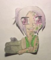 Seammy the Clover Guy Chibi by Aspiring-Awesomness
