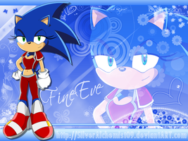 Sonic Female by FineEve by SilverAlchemist09
