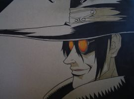 Alucard WIP by typhon-humanoid