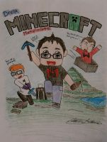 Markiplier: Drunk Minecraft 1 by ActCat808