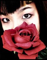Rose Eyes Lomo by ropa-to