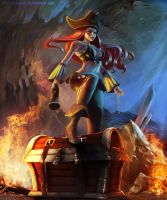 Miss Fortune by DeathPantherz