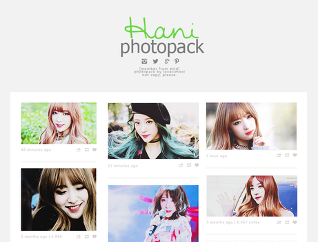 Hani | photopack by lovexlmost