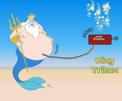 King Triton Gets Pumped by Beast72