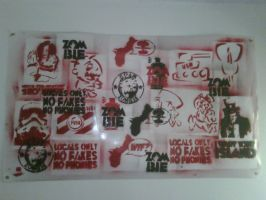 Stencil Banner by Guam-Zombie