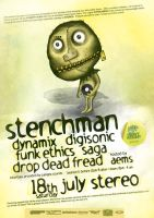 stenchman poster by c0p