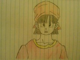 Pan from DragonBall GT ! by StickFigureALLDAY